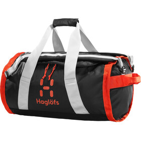 Haglöfs Lava 50 Duffel Bag true black/habanero